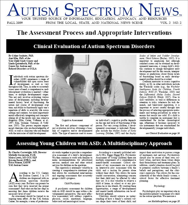 ASN Fall 2009 Issue