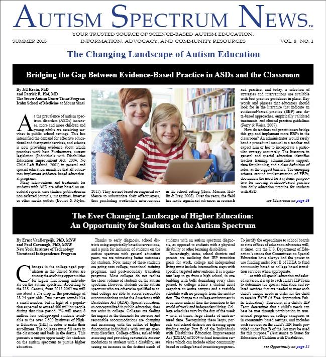 ASN Summer 2015 Issue