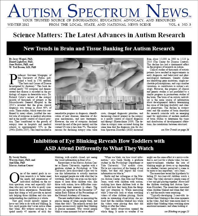 ASN Winter 2012 Issue