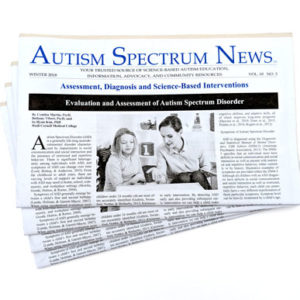 Subscribe to Autism Spectrum News