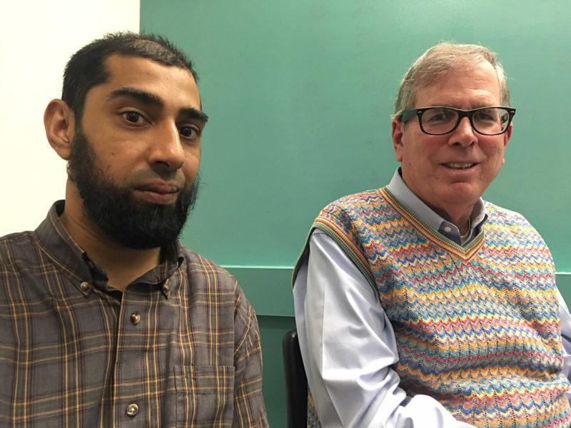 Adil Imran Sanai and James Lawler