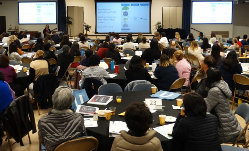 The AIR-B Network's Community Autism Conference in South Los Angeles, California, March, 2019
