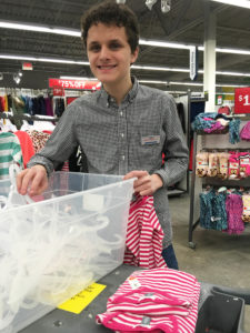 Michael J. received vocational training in retail apparel sorting, folding, and organization