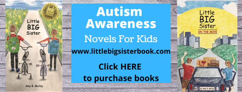 Autism Awareness Novels for Kids - Little Big Sister Book Series