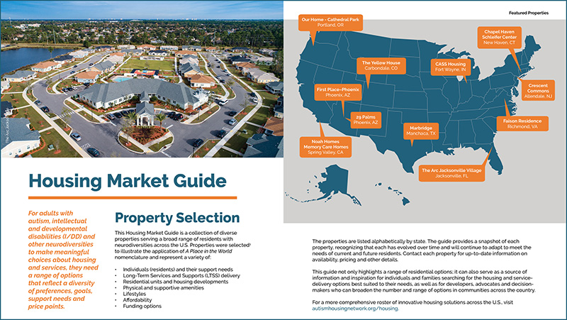 """A page out of the """"A Place in the World's Housing Market Guide,"""" a comprehensive resource featuring various properties around the country servicing a range of needs and preferences."""
