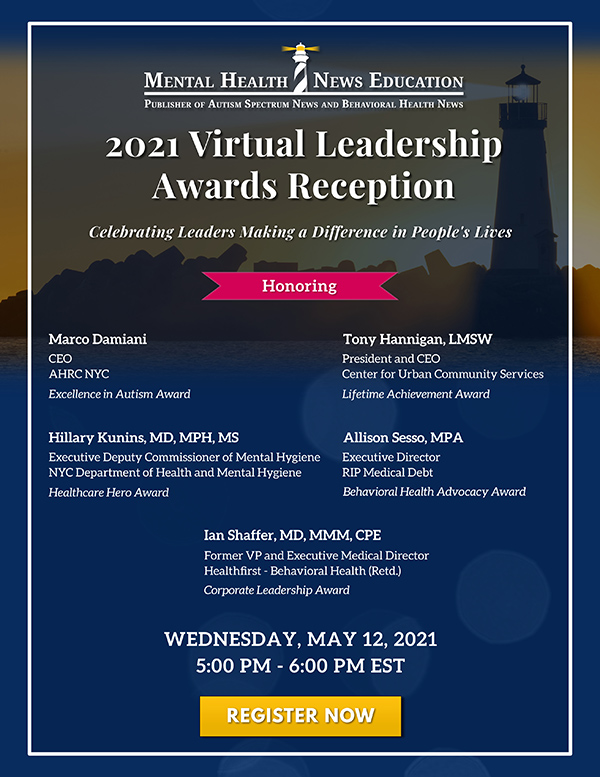 MHNE 2021 Virtual Leadership Awards Reception