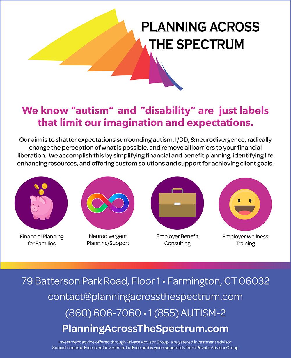 Planning Across the Spectrum Full - Summer 2021