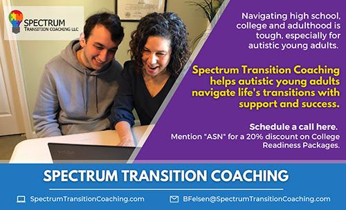 Spectrum Transition Coaching Eighth - Summer 2021