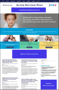 ASN Website Advertising Layouts