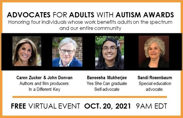 2021 Advocates for Adults with Autism Awards